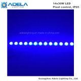 14X30W im Freien wasserdichter LED Stab-Wand-Unterlegscheibe-Pixel-Steuerstreifen