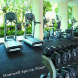 Cheap professionale Rubber/PVC/EPDM Flooring per Gym/Fitness in Tile/Roll/Interlocking Mode