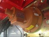 Eintauchen der Zink-Aufbau-Hebevorrichtung mit drei Motoren