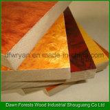 MDF меламина высокого качества 1220X2440