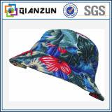 Chapeau personnalisé de position de blanc de coton de logo/étiquette de modèle
