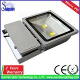 Luz de inundación de IP65 100W LED/lámpara para la guarnición al aire libre