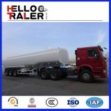 Acoplado del carro del depósito de gasolina del Tri-Árbol 40000L