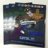 A4/A5 Softcover/impression livre de livre broché, impression colorée, laminage lustré, livres d'éducation