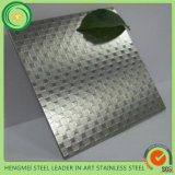 Wand Decoration Panel Wholesale 201 1.2mm Embossed Edelstahl Sheet 0.4mm Mirror Embossed Edelstahl Sheet
