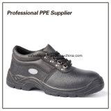 Zapatos de seguridad baratos de construcción de la inyección de la PU
