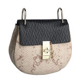 最新のデザイン高品質の女性のための小さい実質の革イブニング・バッグ