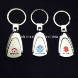 Car su ordine Logo Metal Keychain per Promotion
