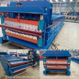 Rullo delle mattonelle lustrato doppia piattaforma che forma macchina