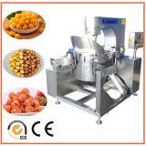 Máquina comercial de las palomitas de la dimensión de una variable de la bola de la capacidad grande para la venta