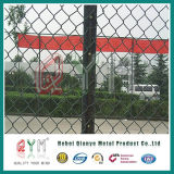 Frontière de sécurité galvanisée de diamant/cour de jeu Fnece sport en plein air/clôture maillon de chaîne