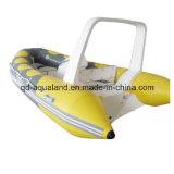 Aqualand 14feet 4.3m Stijve Opblaasbare Vissersboot/de Boot van de Rib (RIB420b)