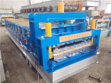 강철 Roof 및 Wall Panel Double Layer Cold Roll Forming Machine