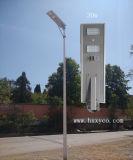 All in One Solar LED Street Light 30W Solar Street Light com RoHS Garantia de 3 anos
