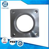 Bride de usinage modifiée d'acier de pièce de rechange de pompe d'ajustage de précision de pipe de commande numérique par ordinateur