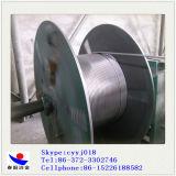 Fil creusé par silicium de calcium d'Anyang Chine