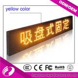 Afficheur LED polychrome de taxi du contrôle de disque d'U P4 pour la publicité