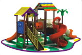 CE Interesante parque de atracciones al aire libre plástico Playground (12083A)
