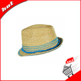 라피아 야자 밀짚 모자 중절모 모자