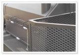 Protezione ampliata della macchina della maglia del metallo