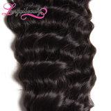 Pacote por atacado indiano do cabelo humano do Virgin barato super da qualidade