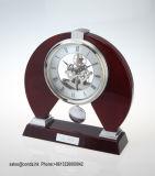 Orologio dello scrittorio di legno solido del pendolo di alta qualità per il regalo K3034PA di affari