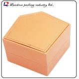 Casella di memoria di cuoio di lusso della visualizzazione dell'imballaggio della vigilanza (Sy012)