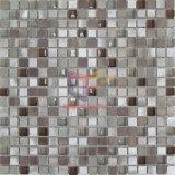 Mosaïque en cristal de mélange en aluminium de couleur de Rose Brozen (CFA70)