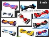8inch 36V Hoverboard mit Bluetooth
