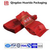 多彩な印刷を用いるカスタマイズされた側面のガセットのプラスチック茶包装袋
