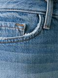 형식 숙녀 또는 여자 Factory의 파란 여위는 데님 Minipants 청바지 간결