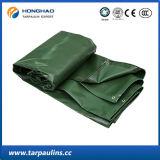 Encerado impermeável verde do PVC de Factroy da alta qualidade 4*4