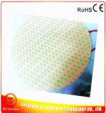 Calentador redondo de la impresora del silicón 3D del diámetro 500*1.5m m 24V 1000W