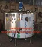 Pasteurizador de pasterización del tratamiento por lotes de la cuba del queso de 200 galones