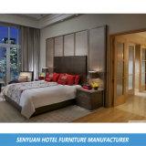 革によって装飾される頭板のホテルの現代的な家具(SY-B175)
