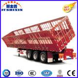 Aanhangwagen van de Vrachtwagen van de Kipwagen van de Lading van de Staak van As 3 BPW van de kwaliteit de Betrouwbare Zij zelf-Dumpt met Zijgevel