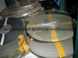Correia material bronzeada do guia de PTFE na máquina
