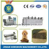 Máquina da extrusora da pelota da alimentação do cão e do secador da eletricidade