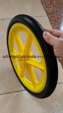 Roda plástica do sólido do plutônio da borda da alta qualidade