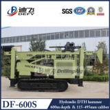 kruippakje van 400m df-400s DTH zette Machine van de Boring van het Boorgat van de Harde Rots de Gebruikte voor Water op