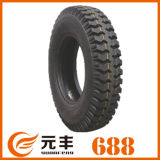 Nylon Bias Truck Tyre (1300-25) with Rib and Lug Pattern