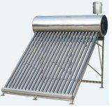 Aquecedor solar de água com cisterna