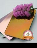 Uso composito di alluminio del comitato dello specchio della Rosa per la costruzione della decorazione