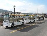 観光地についてはバスを見る14-Seaterツーリストの電気視力