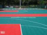 Stuoia modulare antistatica del pavimento dei pp per il campo da giuoco/corte sport/di ginnastica