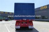 Ctsmは3つの車軸重い貨物輸送のためのトレーラー(ダンプカーのトレーラー)を半ダンプしている自己を育てる
