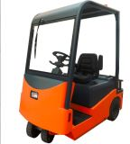 Low Step & Rubber/Metal Crash Barrier를 가진 세륨 6 Ton Electric Towing Tractor