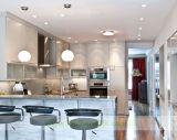 Gabinete de cozinha Matte gracioso do revestimento com portas do ecrã plano (WH-D180)