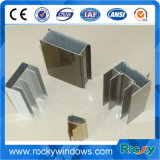 Профили сползая окна утесистой оптовой профессиональной услуги алюминиевые