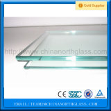 高品質の明確な安全緩和されたガラスの価格(3mm 4mm 5mm 6mm 8mm厚い10mm 12mm 15mm 19mm)